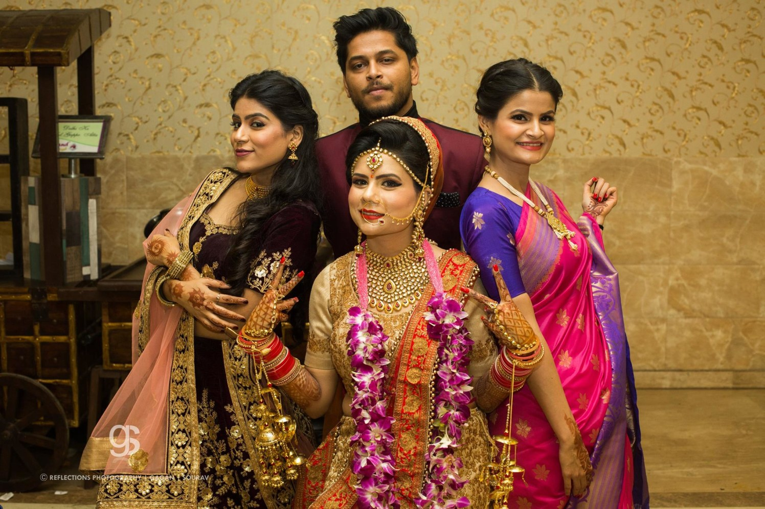 Bride squad! by Reflections Photography Wedding-photography | Weddings Photos & Ideas