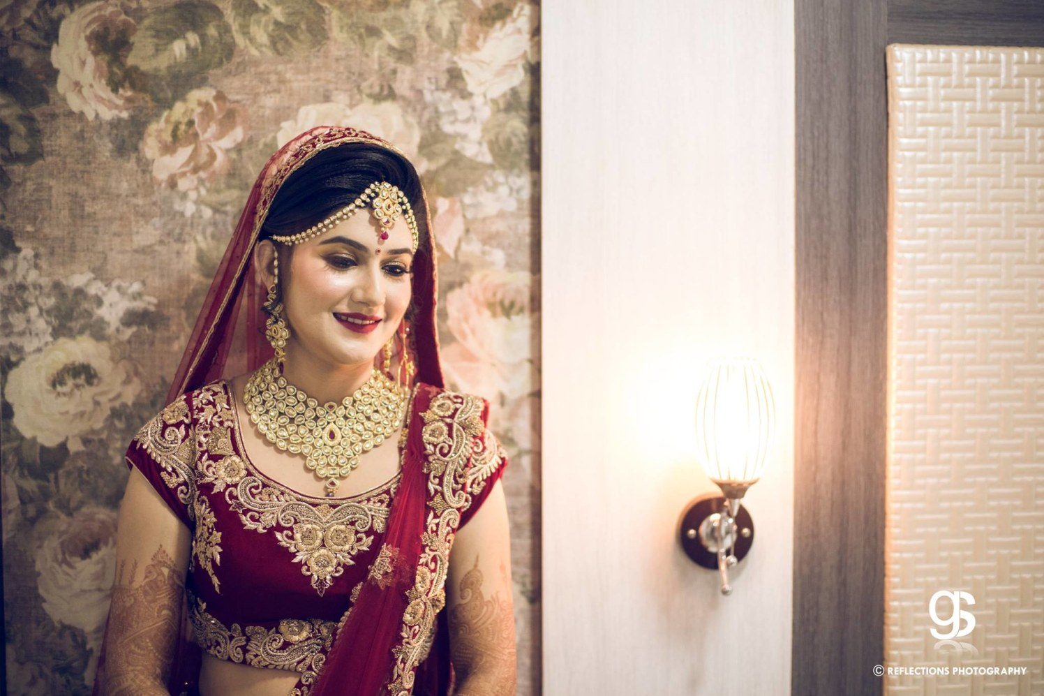 Royal crimson princess! by Reflections Photography Wedding-photography | Weddings Photos & Ideas