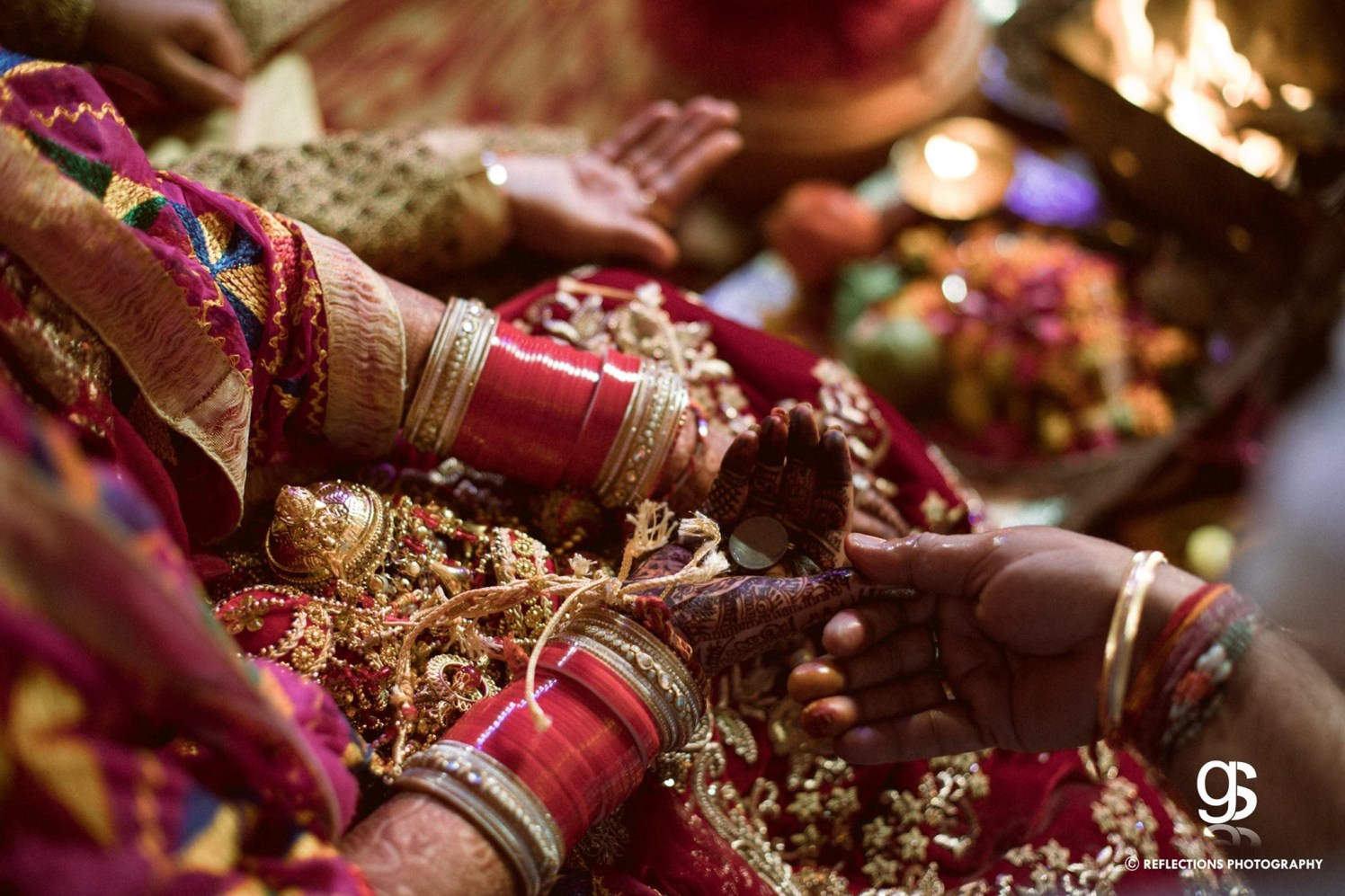 Traditional nuptial colors by Reflections Photography Wedding-photography | Weddings Photos & Ideas
