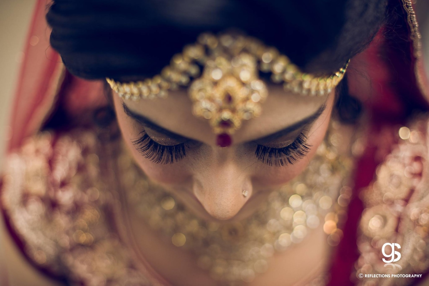 Dramatic lashes, traditional bridal look! by Reflections Photography Wedding-photography | Weddings Photos & Ideas