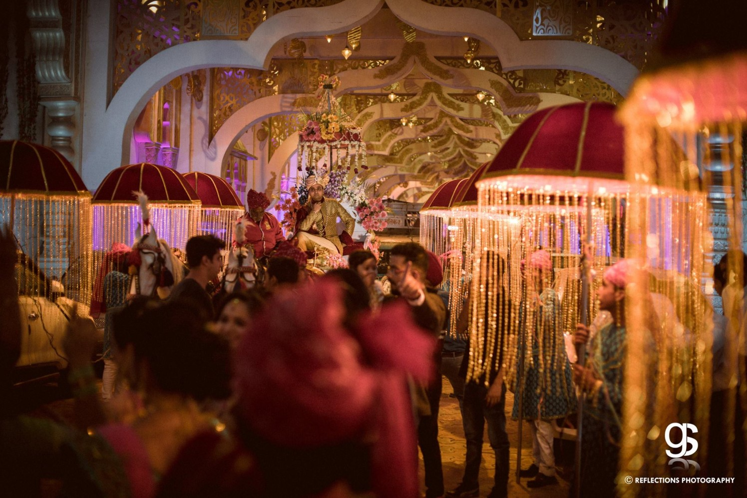 Here comes the baarat! by Reflections Photography Wedding-photography | Weddings Photos & Ideas