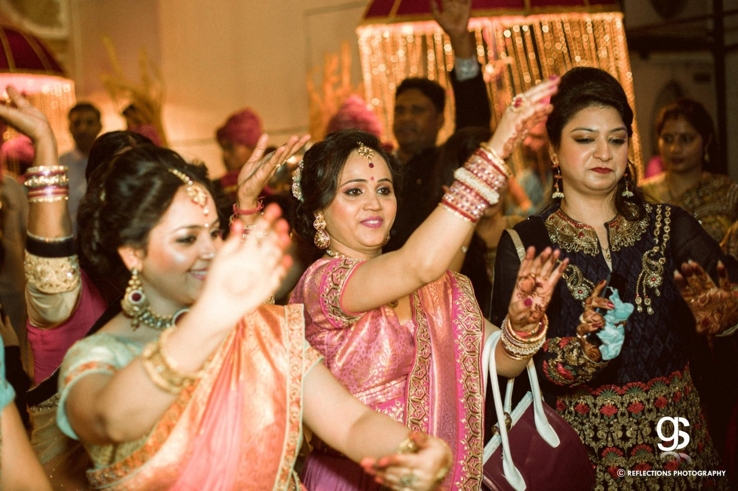 Baarati dance by Reflections Photography Wedding-photography | Weddings Photos & Ideas