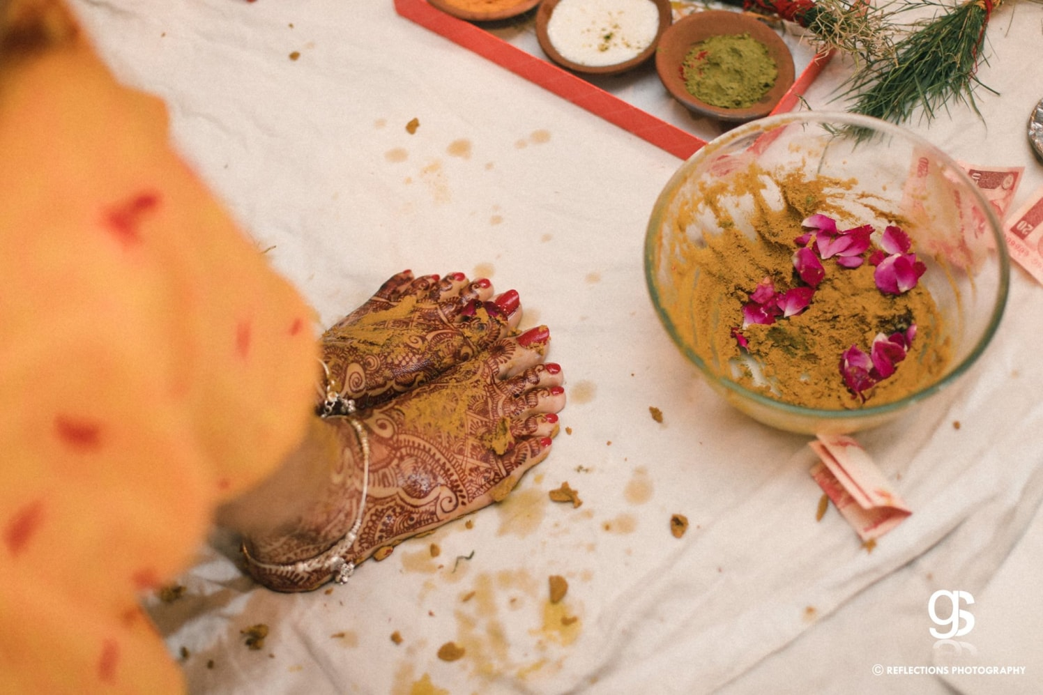 Haldi and henna by Reflections Photography Wedding-photography | Weddings Photos & Ideas