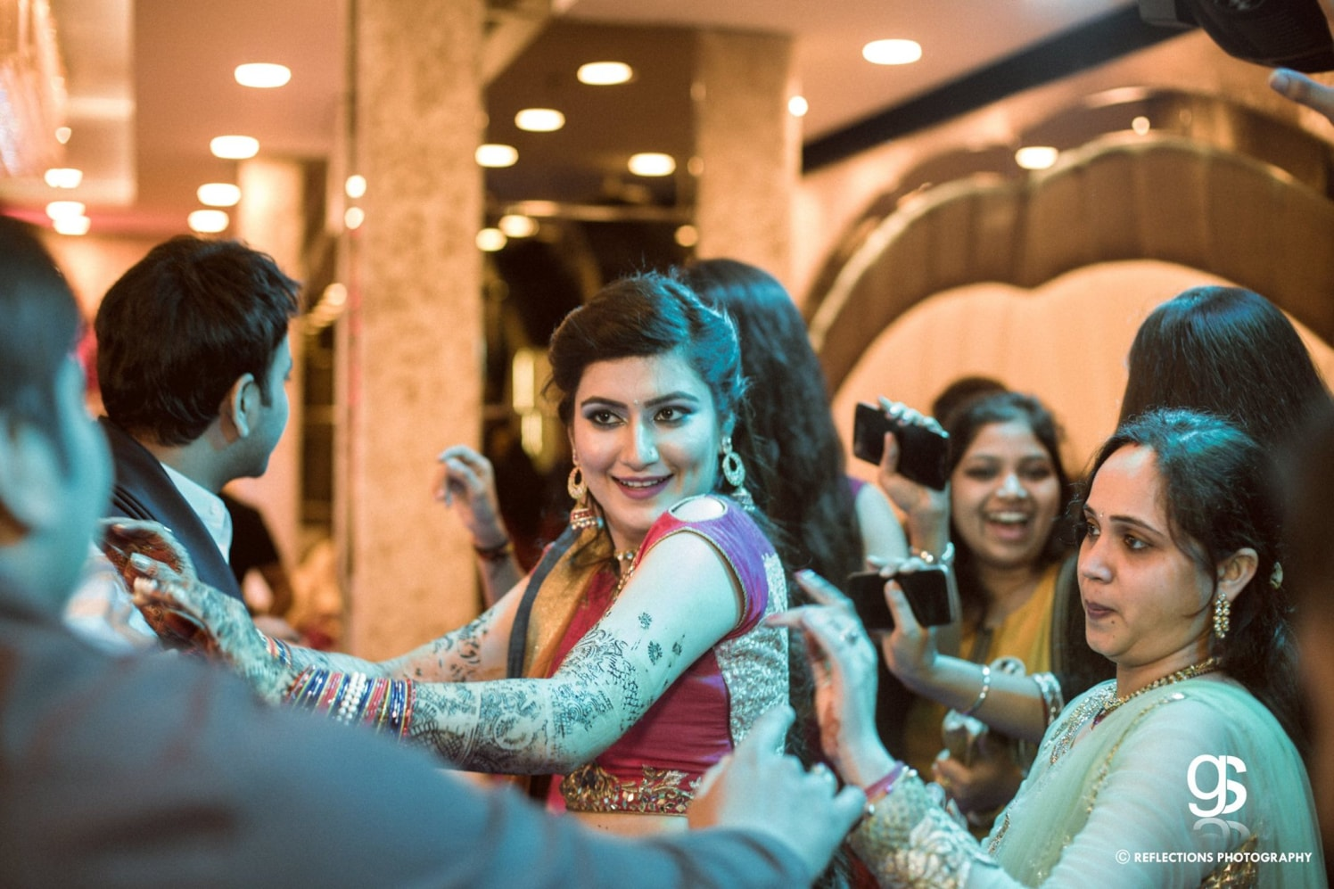All in the jovial glee! by Reflections Photography Wedding-photography | Weddings Photos & Ideas