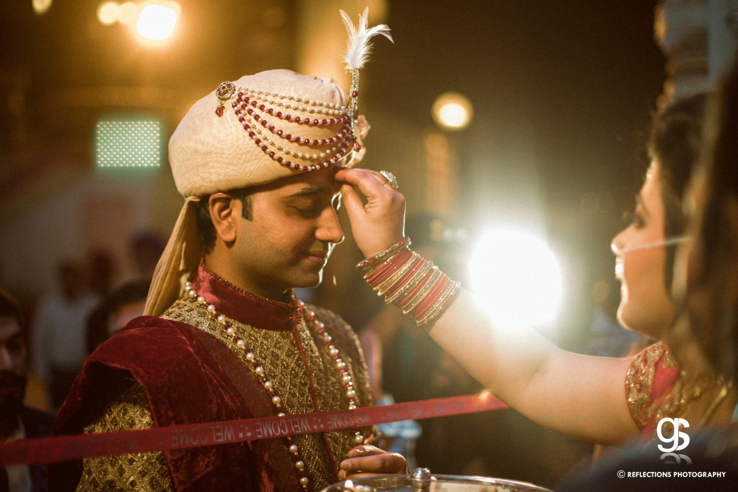 Tilak ceremony by Reflections Photography Wedding-photography | Weddings Photos & Ideas