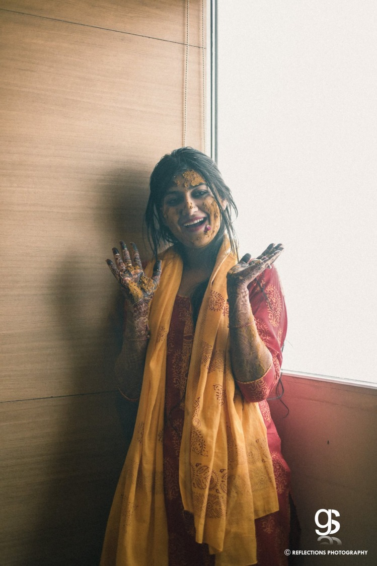 Turmeric glow! by Reflections Photography Wedding-photography | Weddings Photos & Ideas