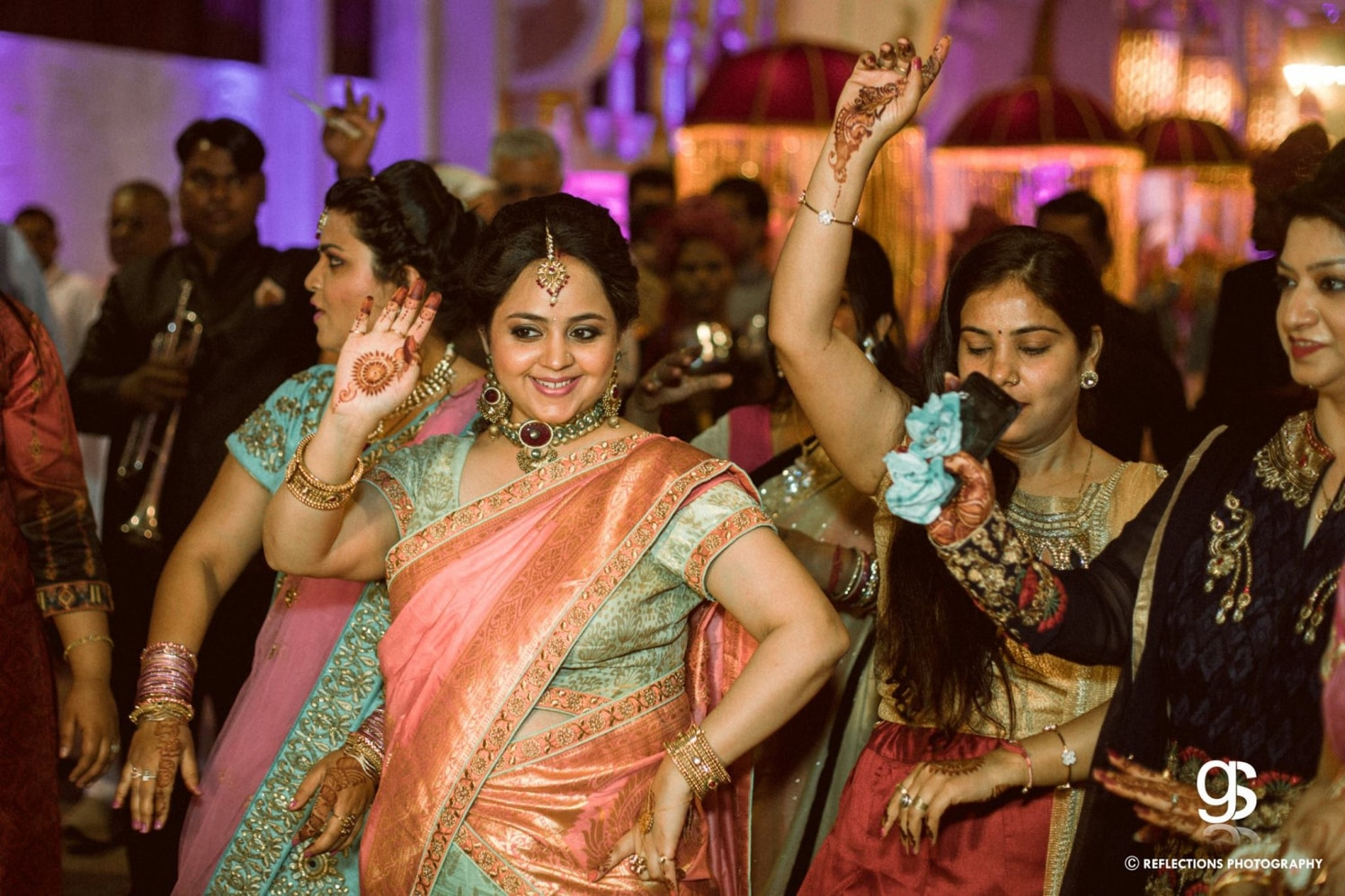 Lets shake a leg! by Reflections Photography Wedding-photography | Weddings Photos & Ideas