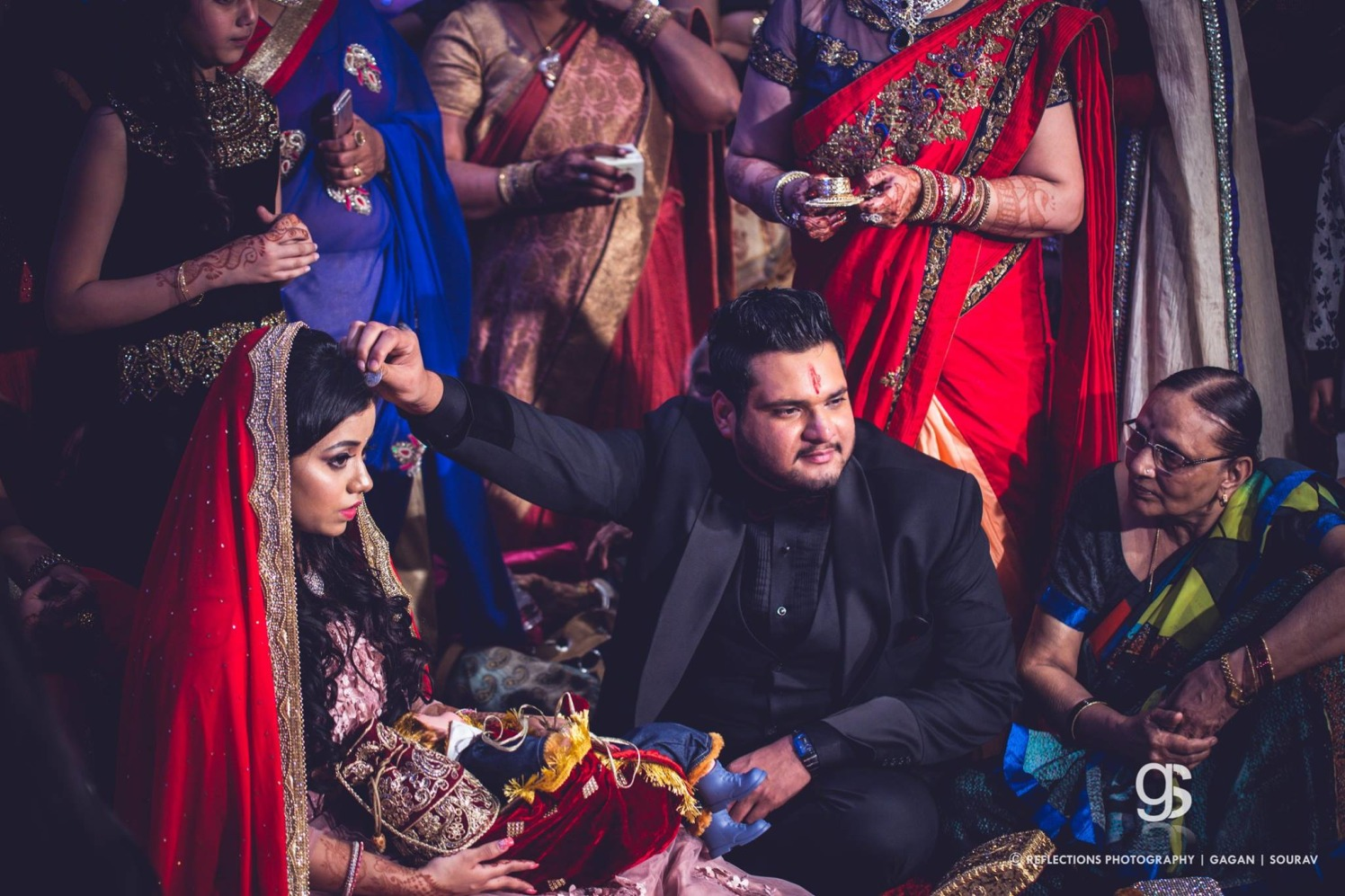 Final Vow of love! by Reflections Photography Wedding-photography | Weddings Photos & Ideas