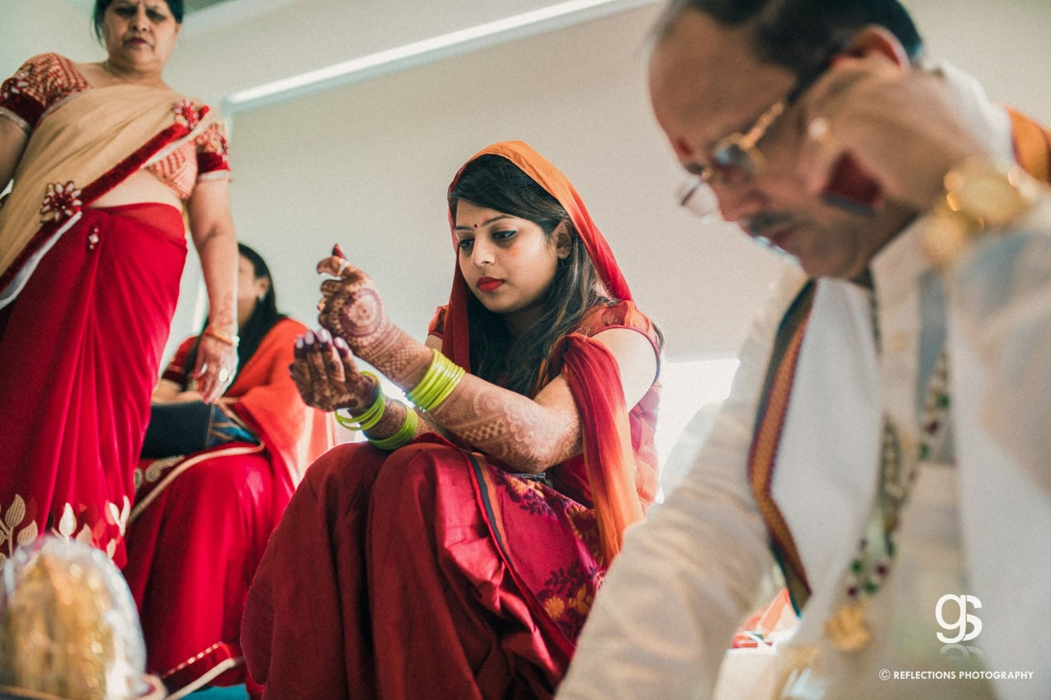 In the ritualistic mode! by Reflections Photography Wedding-photography | Weddings Photos & Ideas