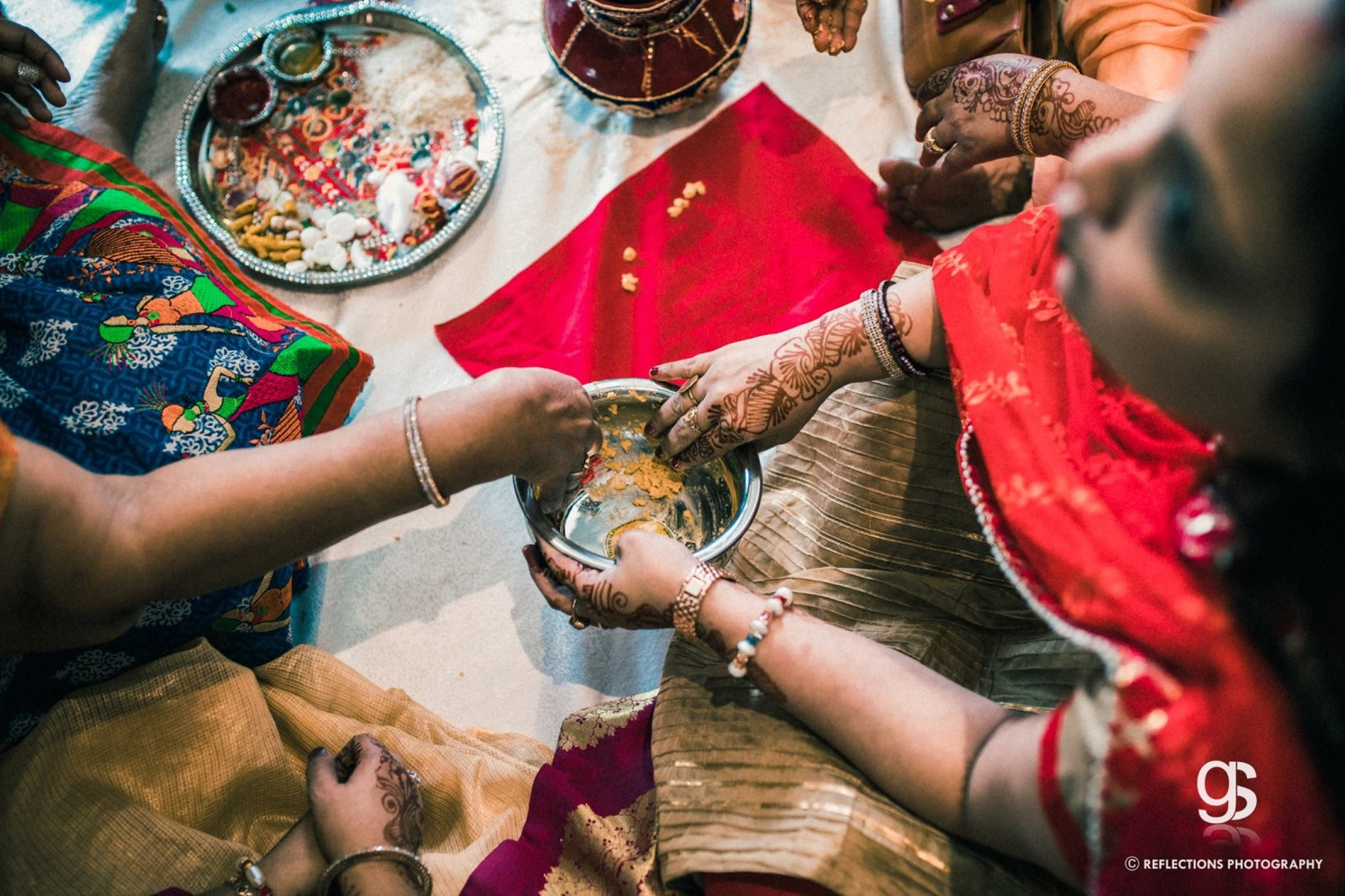 Onset of haldi ceremony! by Reflections Photography Wedding-photography | Weddings Photos & Ideas
