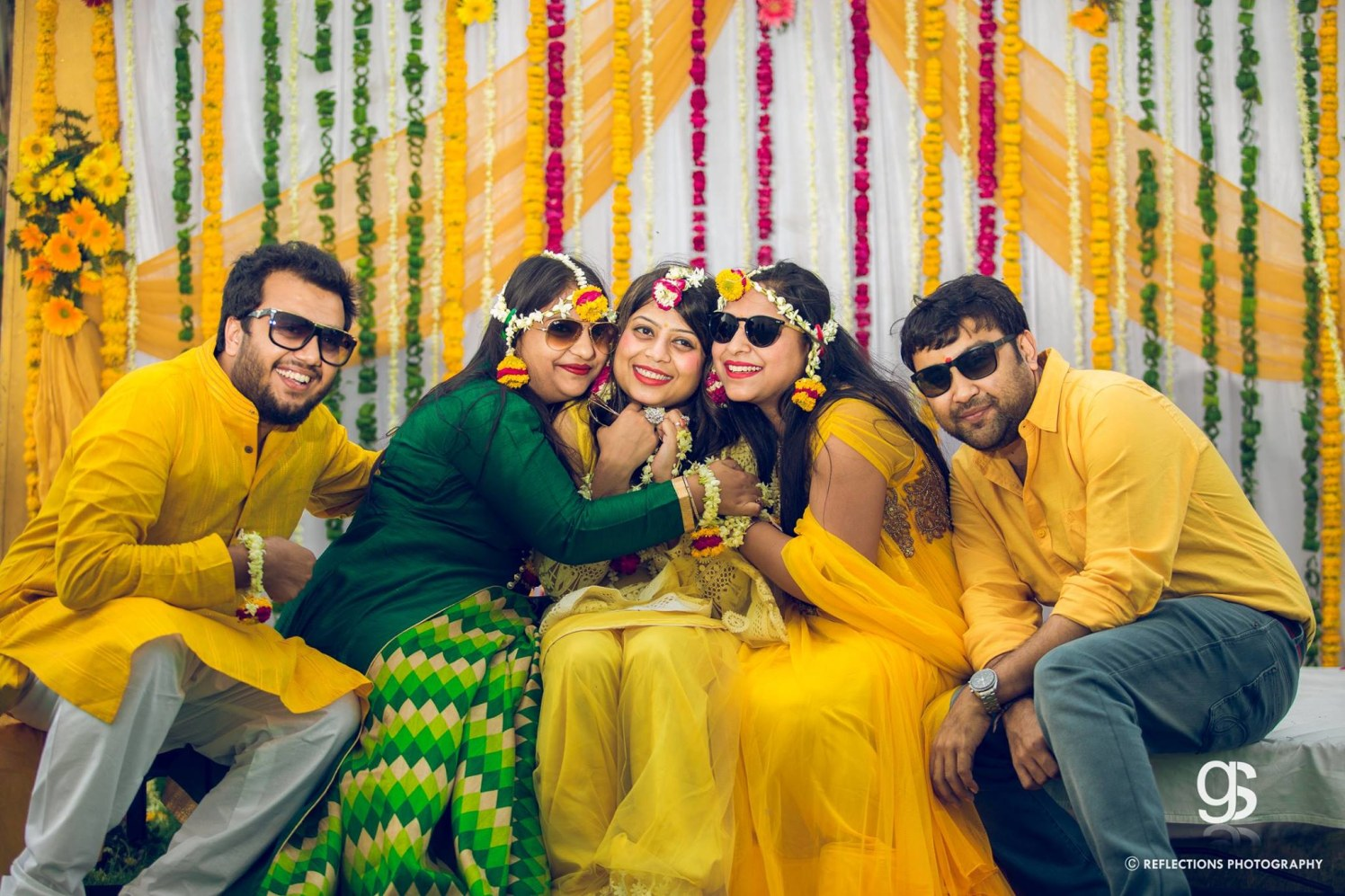 Jelling in yellow! by Reflections Photography Wedding-photography | Weddings Photos & Ideas