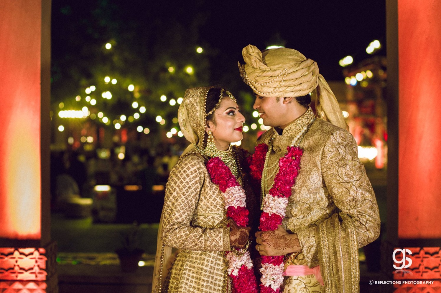 Drenched in gold! by Reflections Photography Wedding-photography | Weddings Photos & Ideas