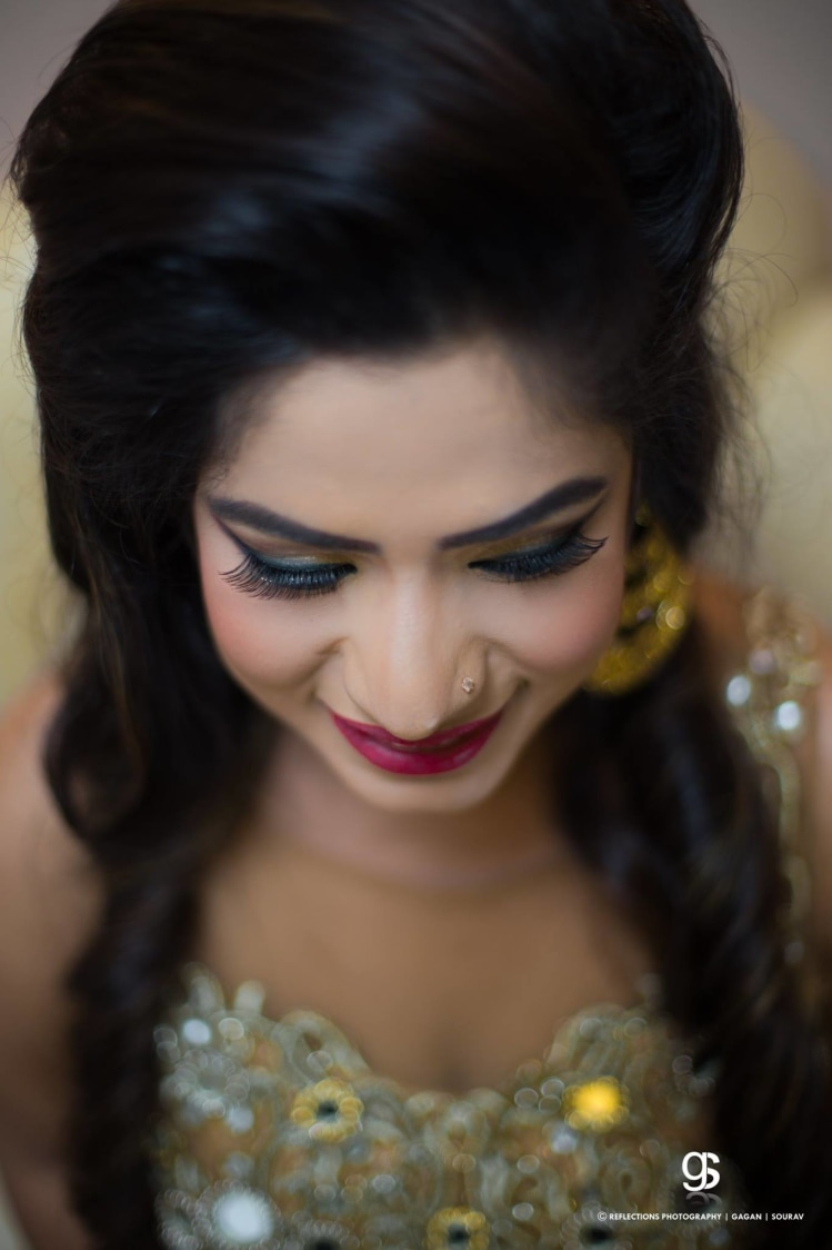 Soft neutral makeup for the bride! by Reflections Photography Wedding-photography | Weddings Photos & Ideas