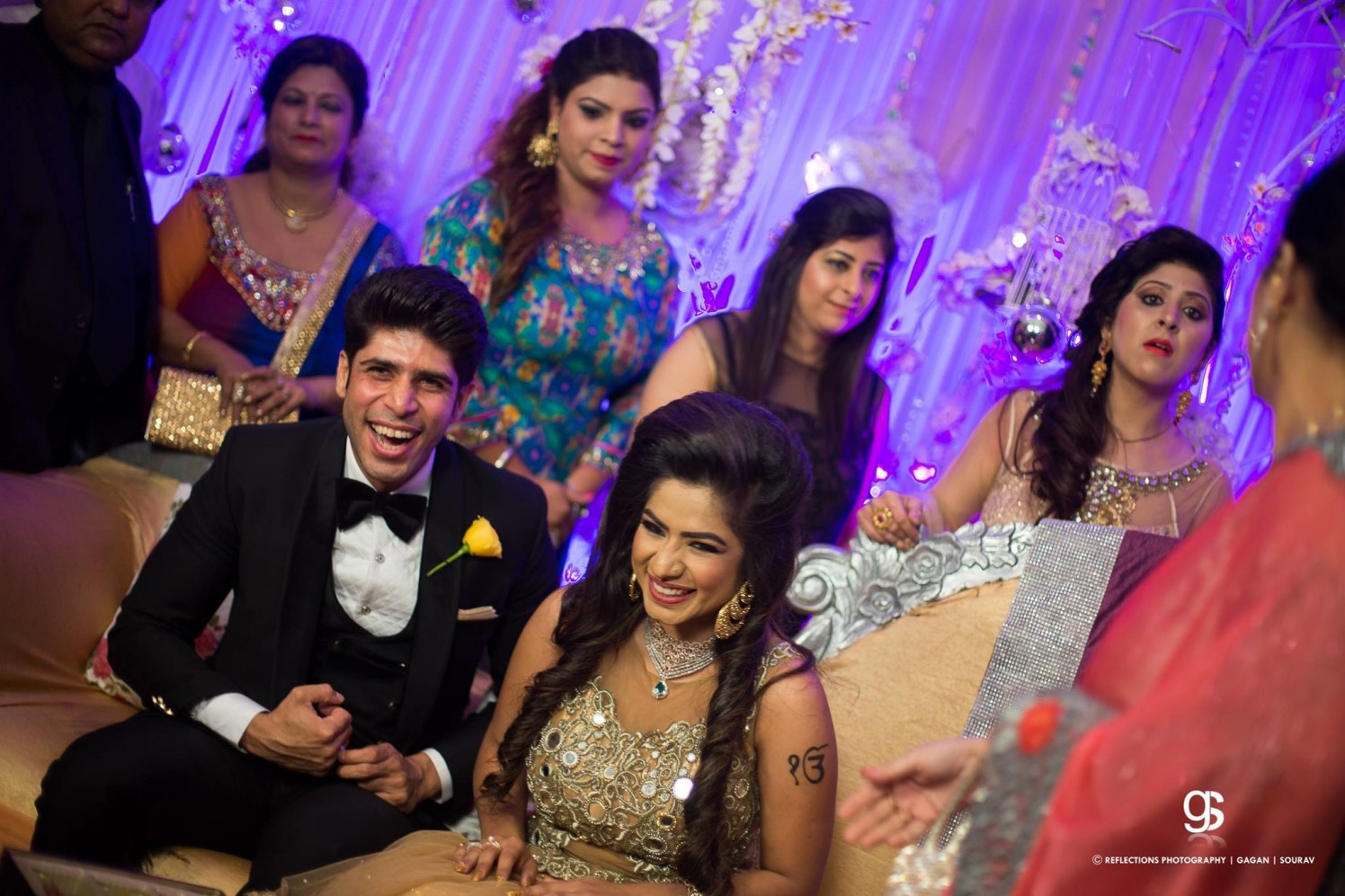 Joyous laughter! by Reflections Photography Wedding-photography | Weddings Photos & Ideas