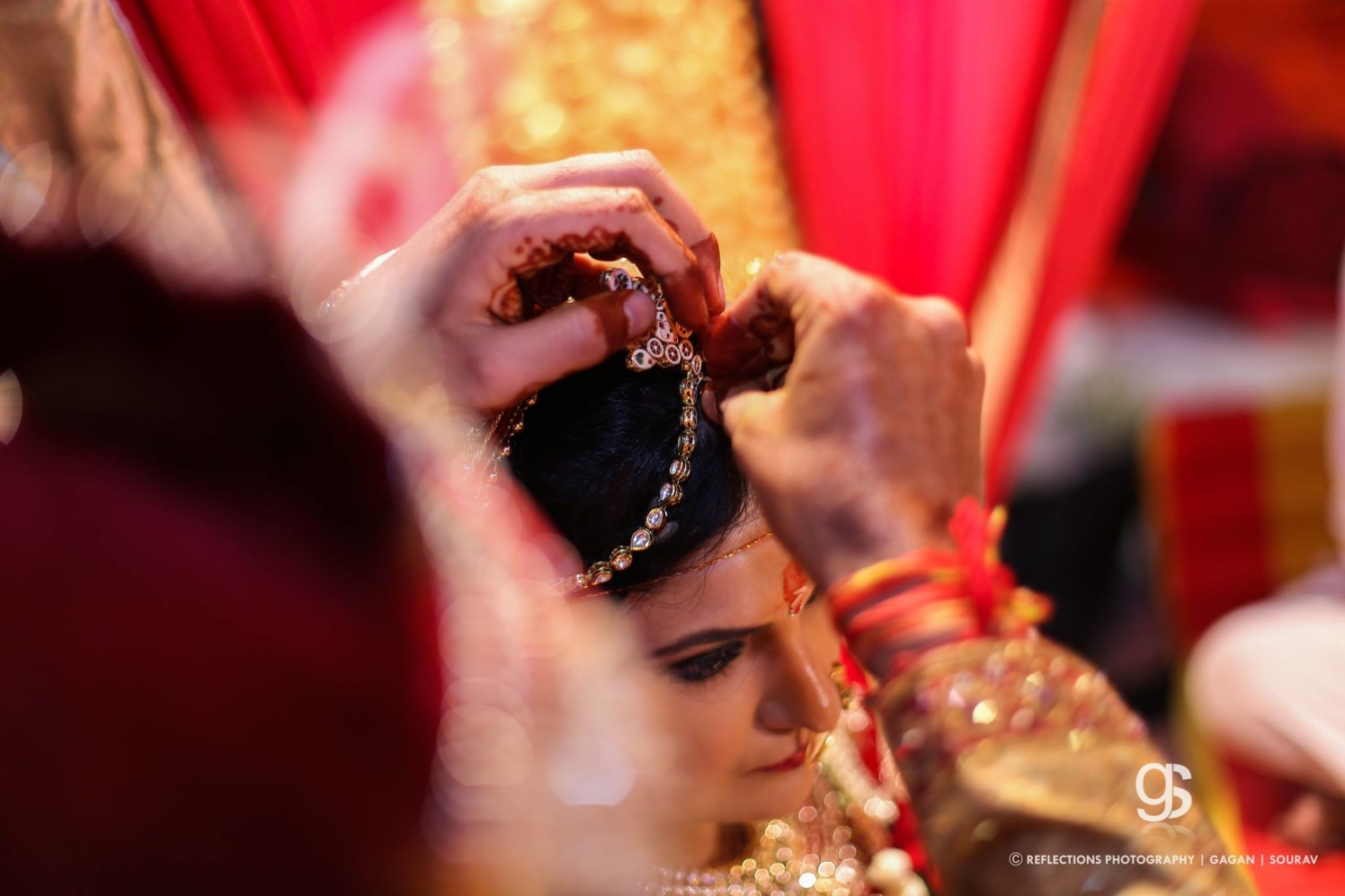 Sacred red vermilion by Reflections Photography Wedding-photography | Weddings Photos & Ideas