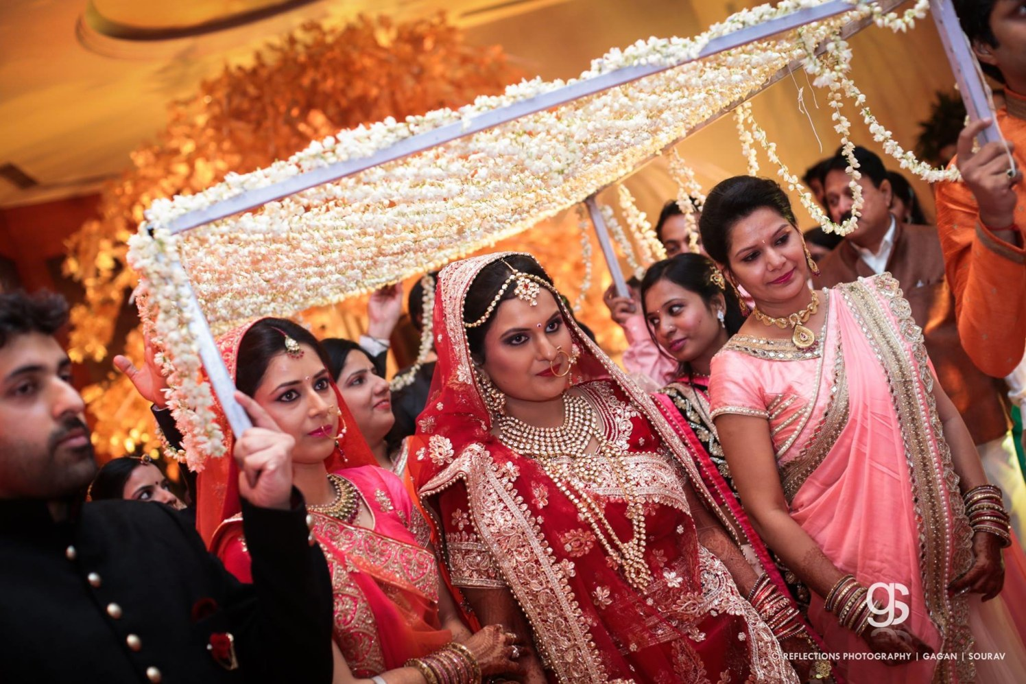 The bride comes with the mogras! by Reflections Photography Wedding-photography | Weddings Photos & Ideas