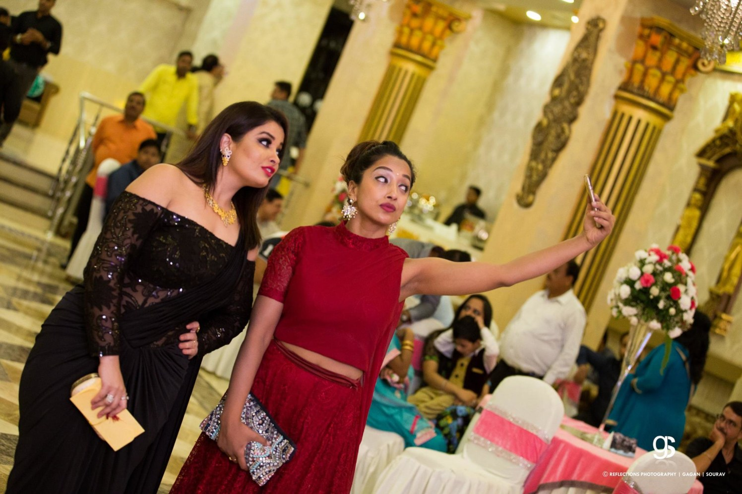 Ladies and selfies! by Reflections Photography Wedding-photography | Weddings Photos & Ideas