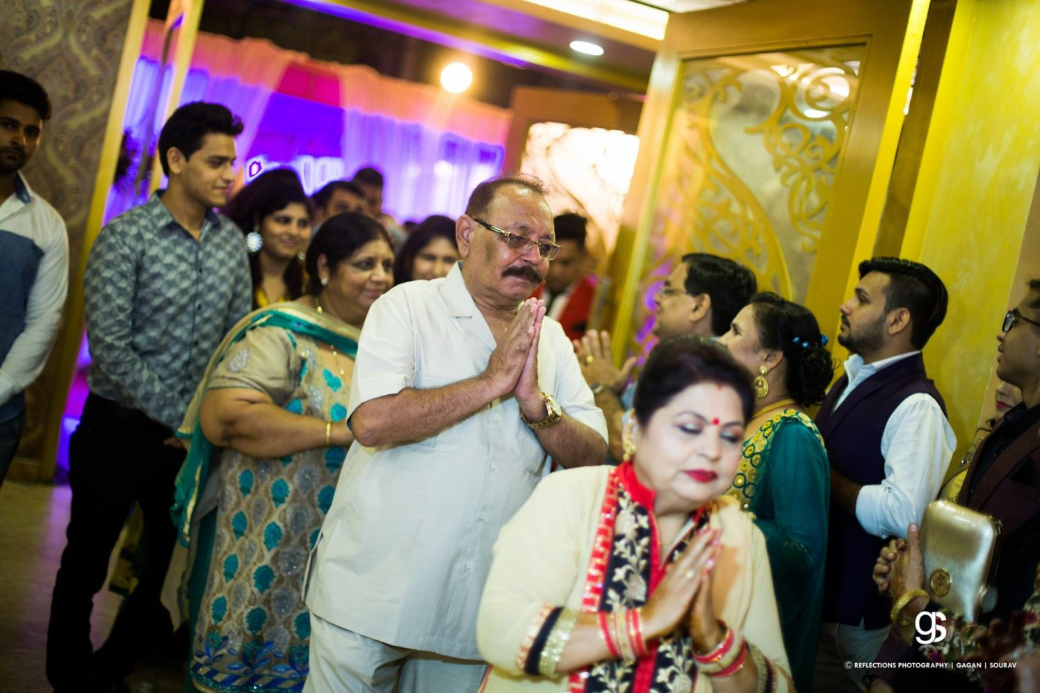 Seeking the blessings! by Reflections Photography Wedding-photography | Weddings Photos & Ideas