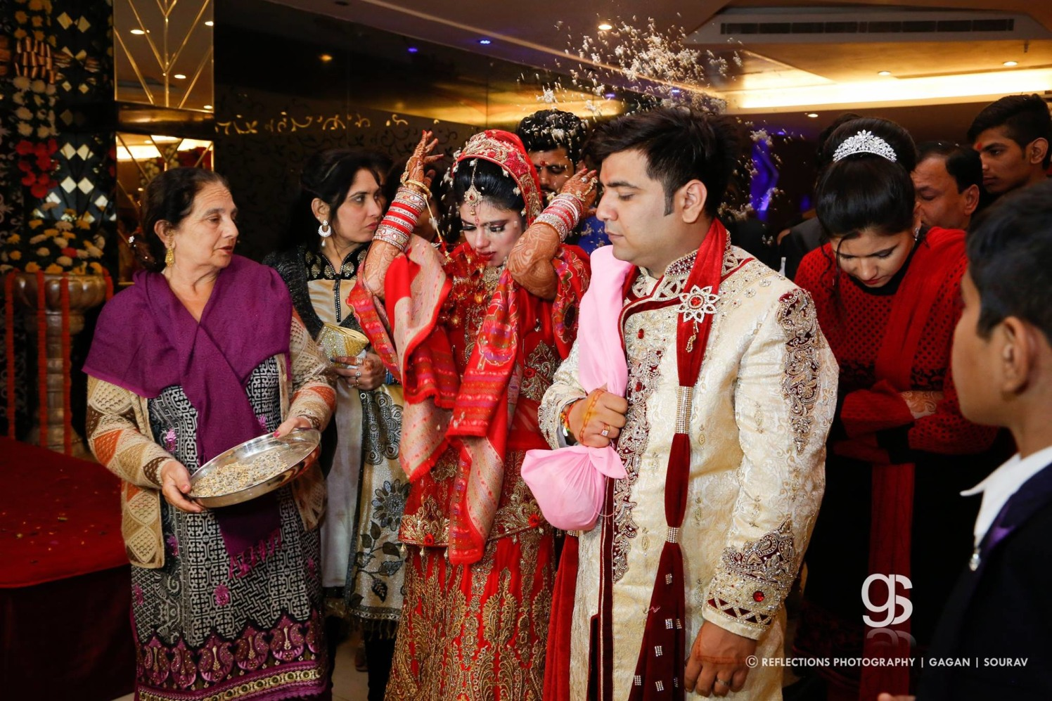 Vidai, Indian tradition! by Reflections Photography Wedding-photography | Weddings Photos & Ideas