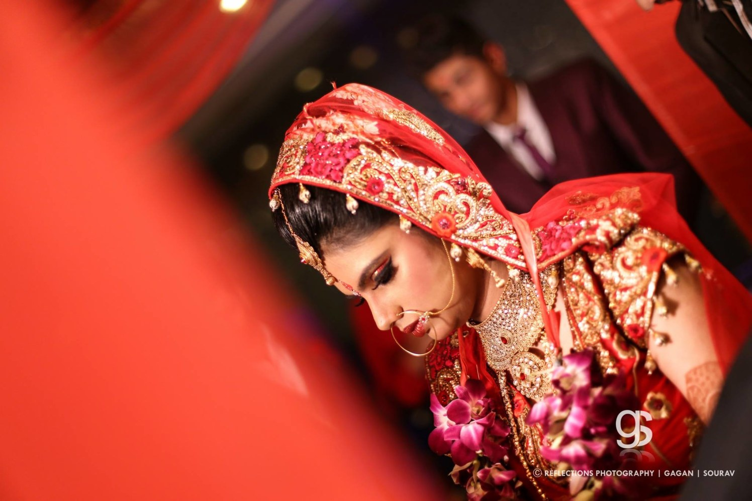 Flaming ruby! by Reflections Photography Wedding-photography | Weddings Photos & Ideas