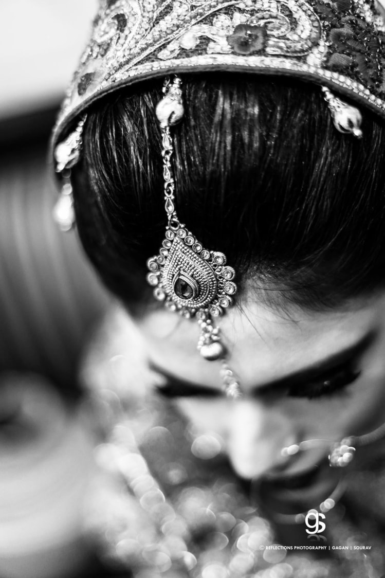 Glimpse of a bride! by Reflections Photography Wedding-photography | Weddings Photos & Ideas