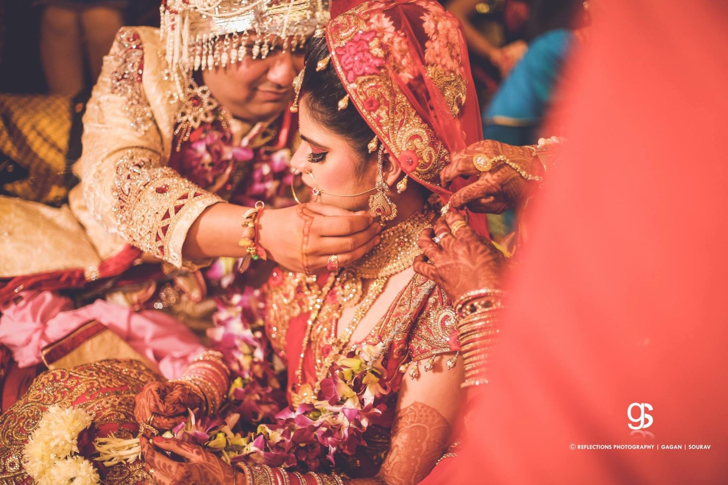The last vow of wedding! by Reflections Photography Wedding-photography | Weddings Photos & Ideas