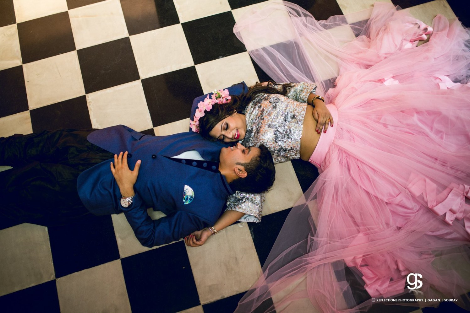 A glittery love affair! by Reflections Photography Wedding-photography   Weddings Photos & Ideas