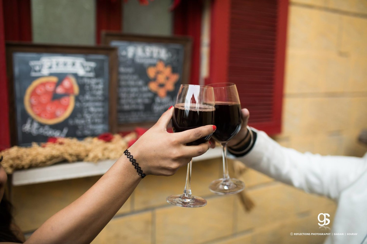 Cheers to the new beginnings! by Reflections Photography Wedding-photography | Weddings Photos & Ideas