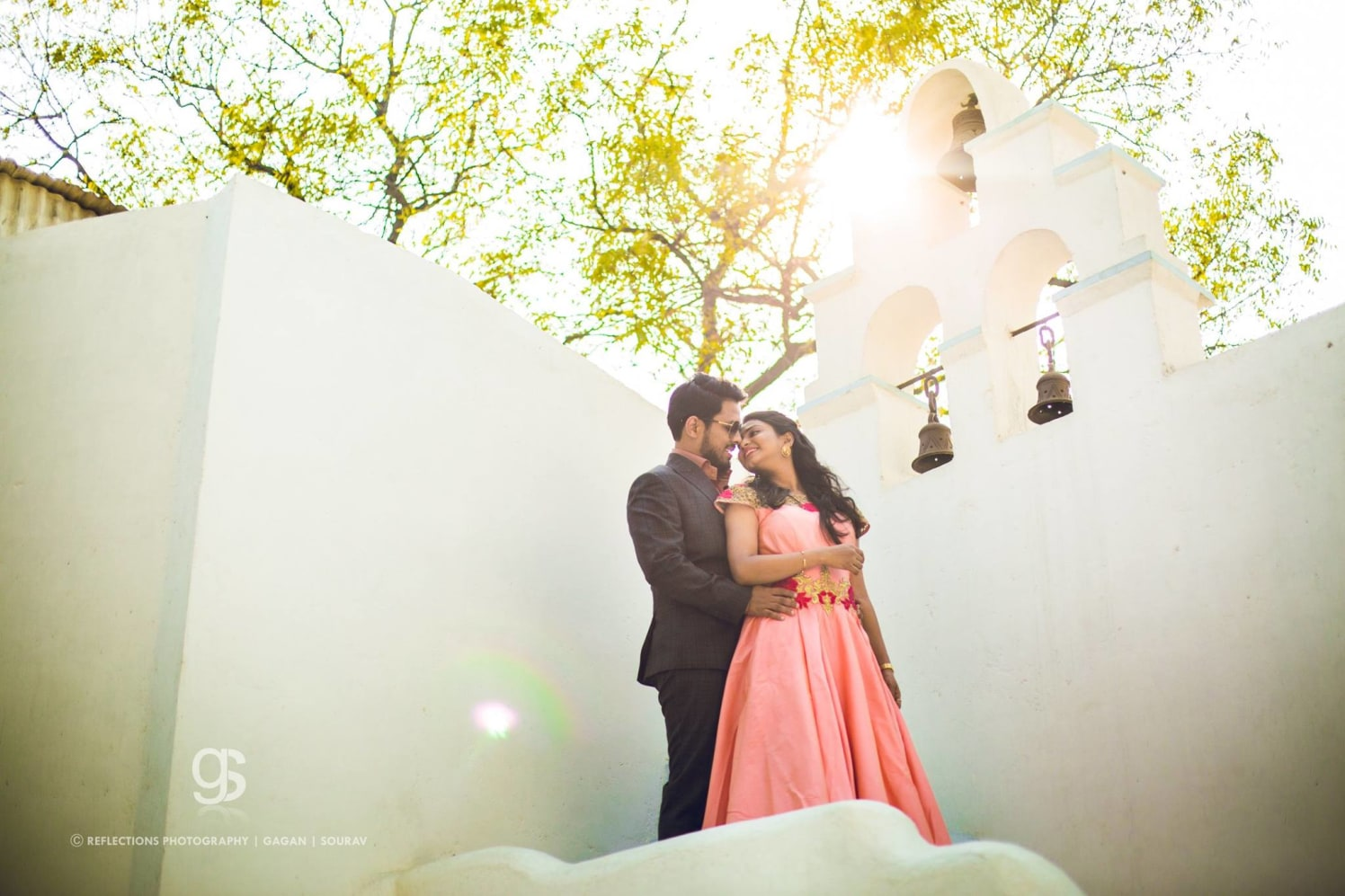 Depth and stability by Reflections Photography Wedding-photography | Weddings Photos & Ideas