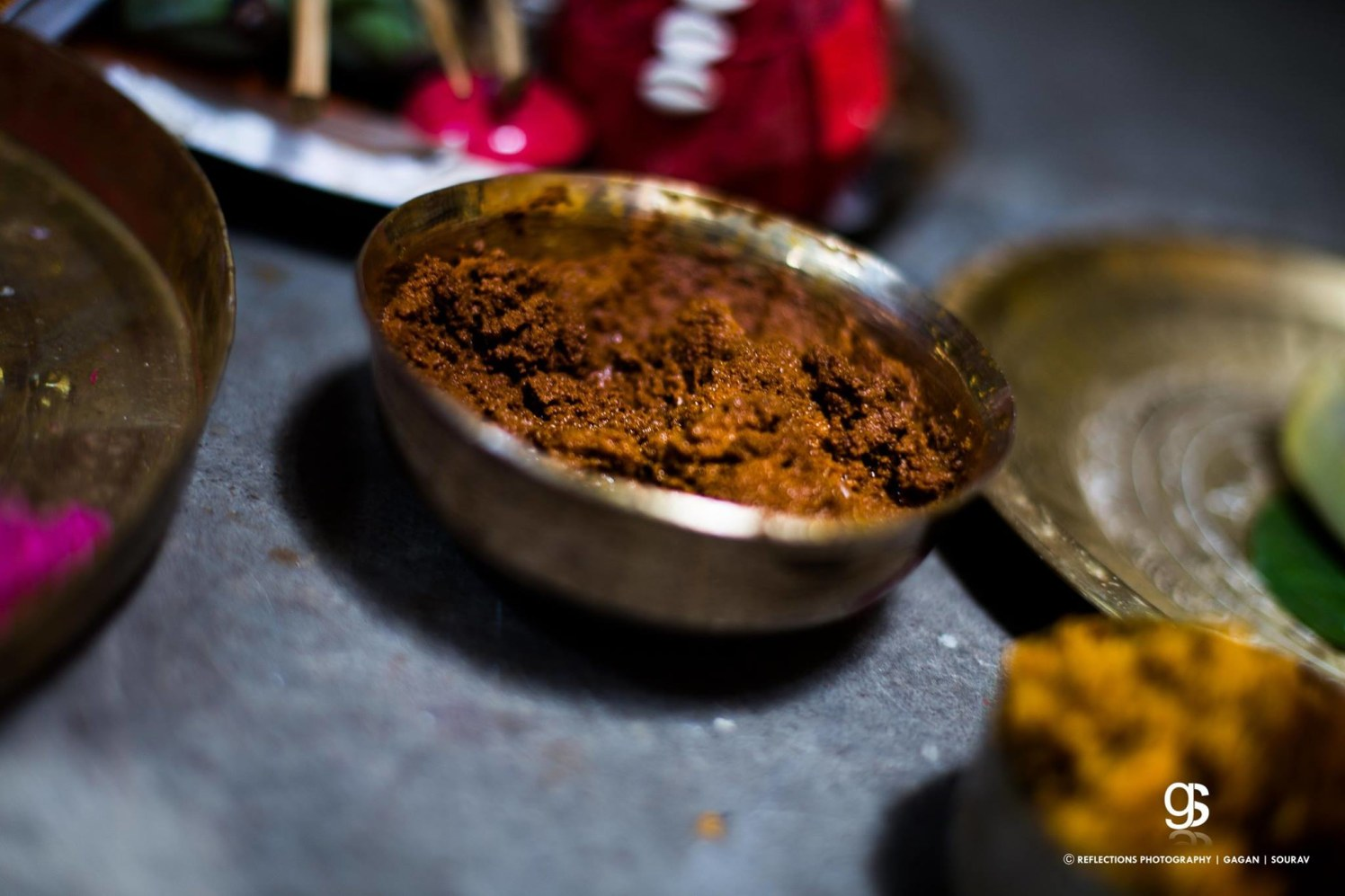 Traditional haldi! by Reflections Photography Wedding-photography | Weddings Photos & Ideas