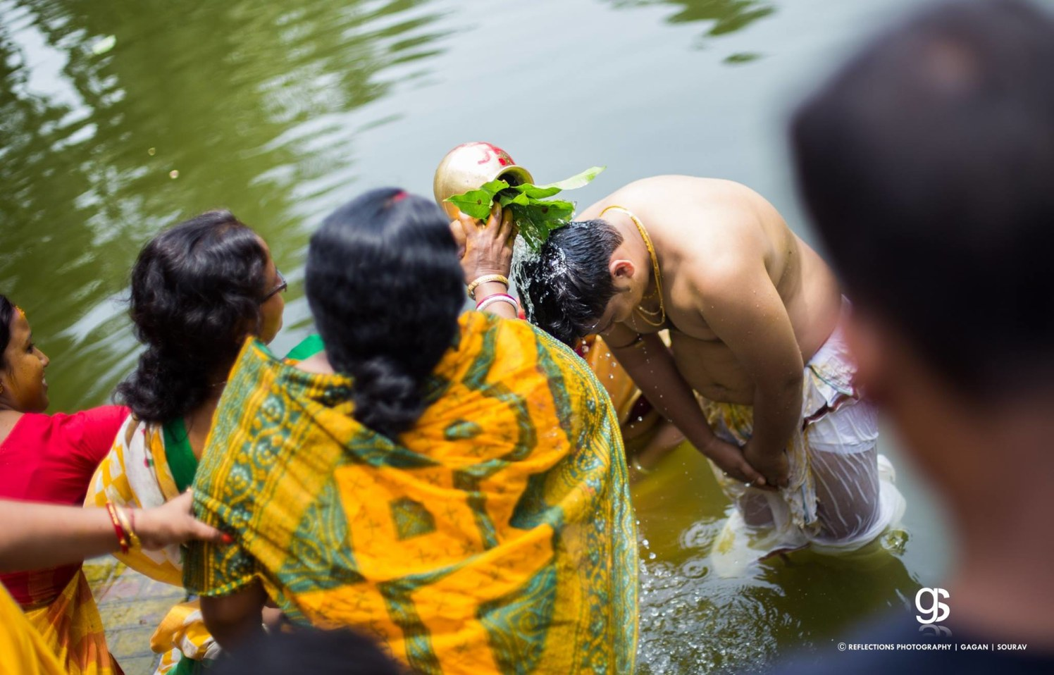 Holy dip! by Reflections Photography Wedding-photography | Weddings Photos & Ideas