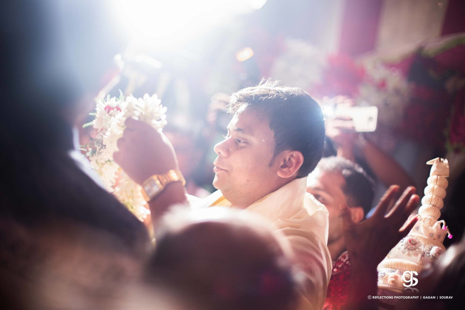 Overjoyed groom! by Reflections Photography Wedding-photography | Weddings Photos & Ideas