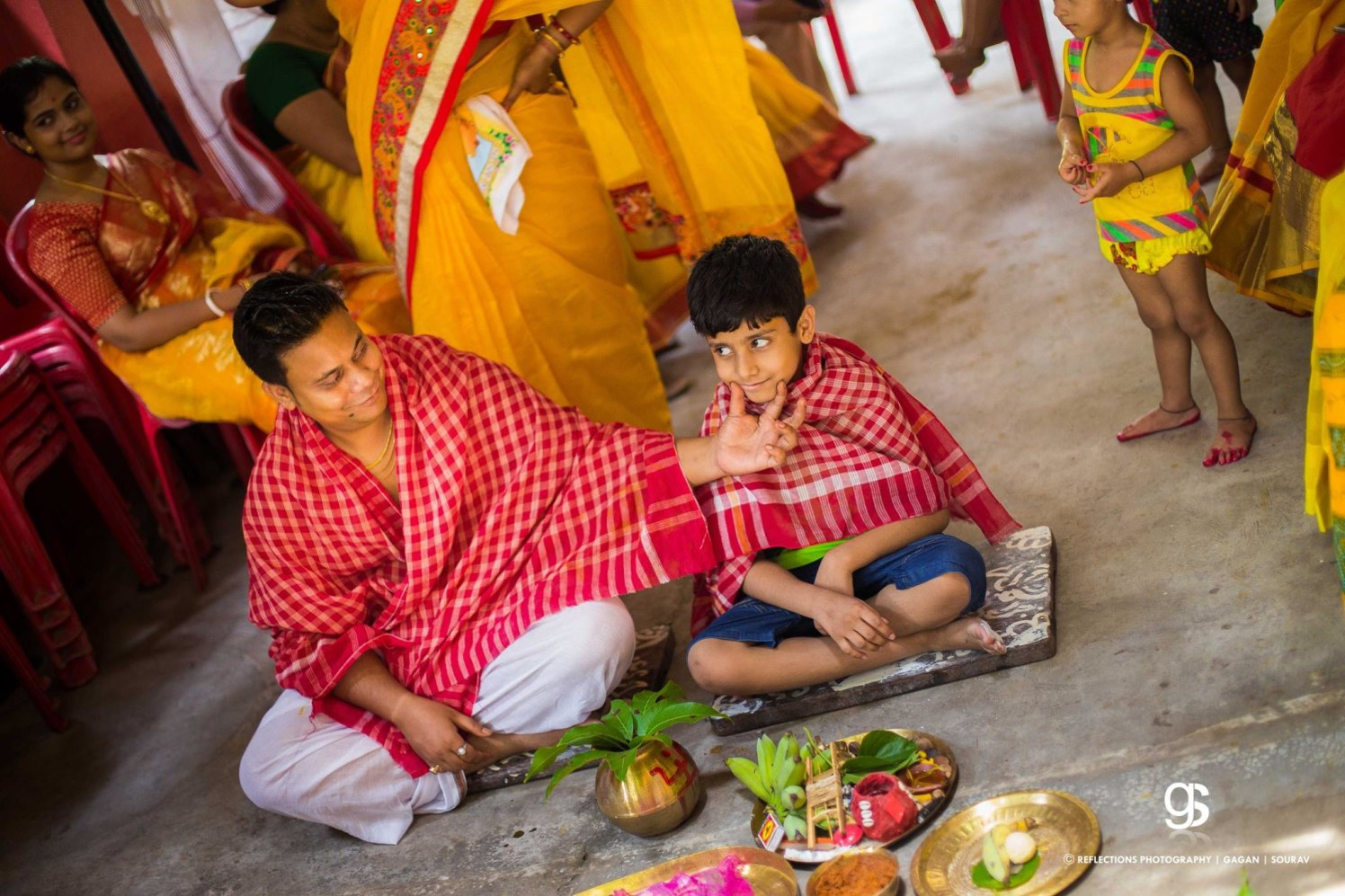 In between the rituals! by Reflections Photography Wedding-photography | Weddings Photos & Ideas