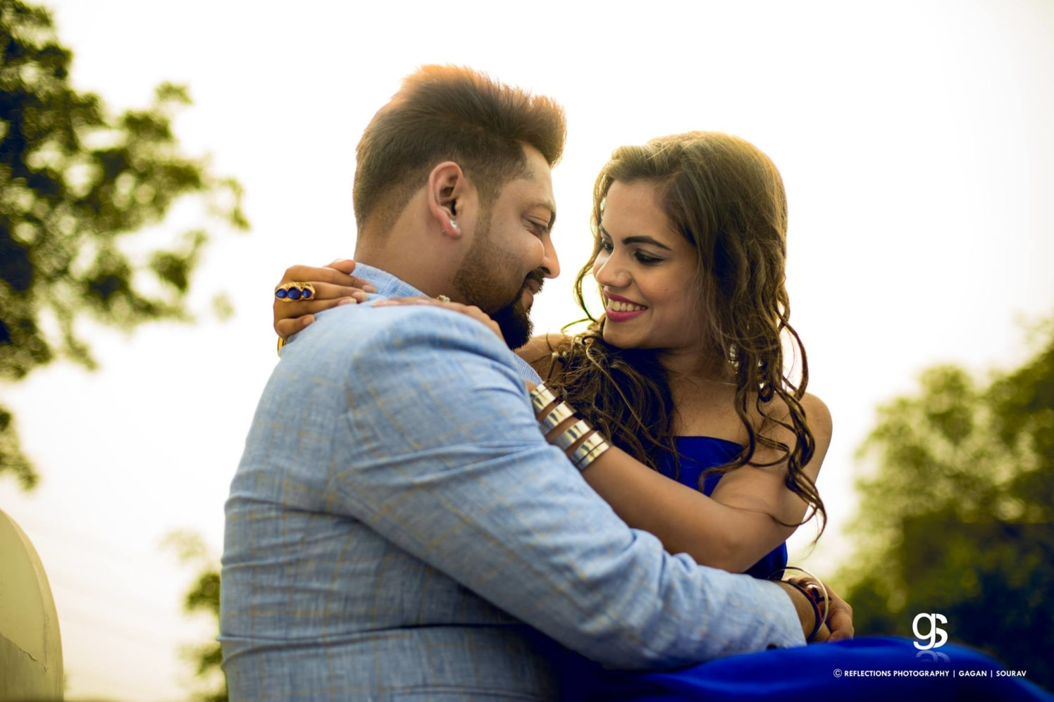 Azure romance by Reflections Photography Wedding-photography | Weddings Photos & Ideas