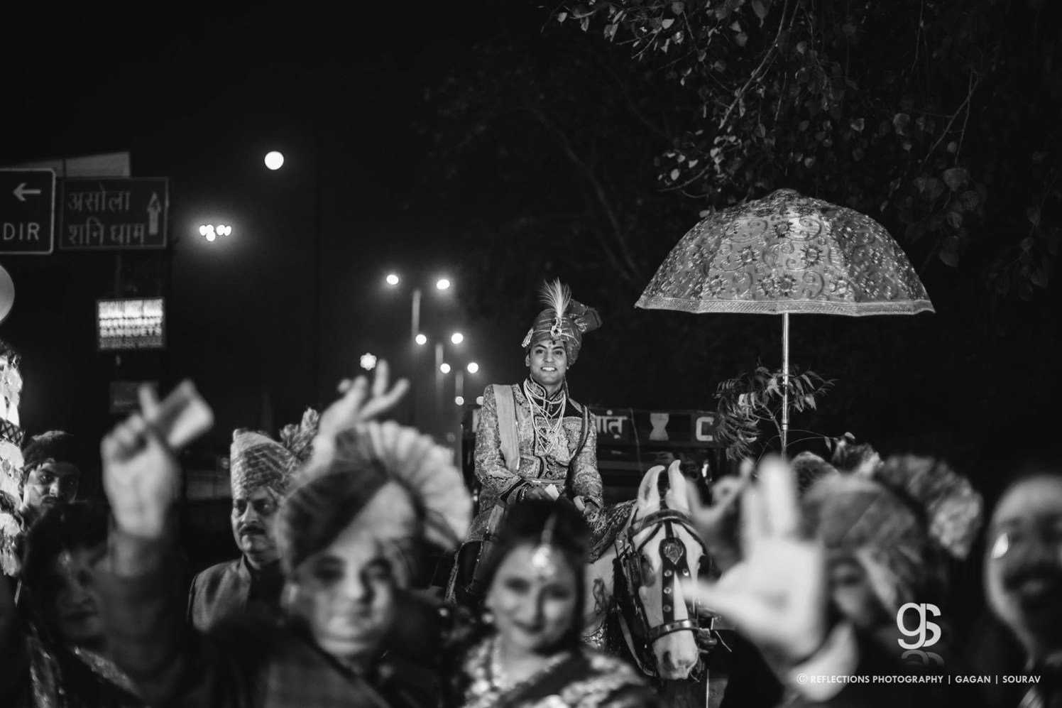 Barat in black and white! by Reflections Photography Wedding-photography | Weddings Photos & Ideas
