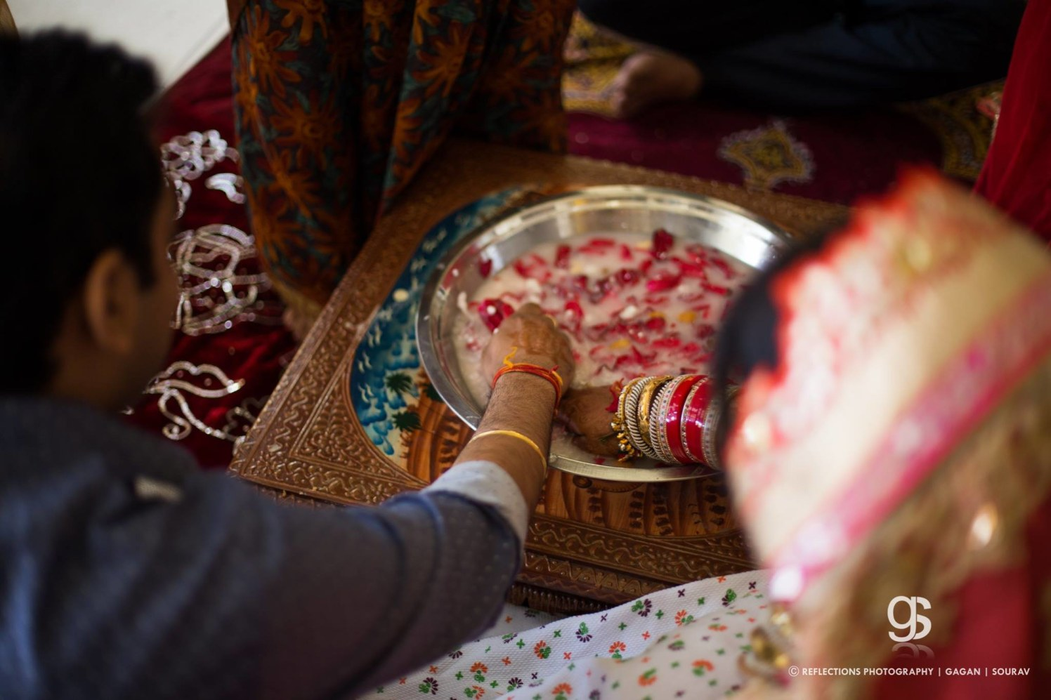 The ritual fervor! by Reflections Photography Wedding-photography | Weddings Photos & Ideas