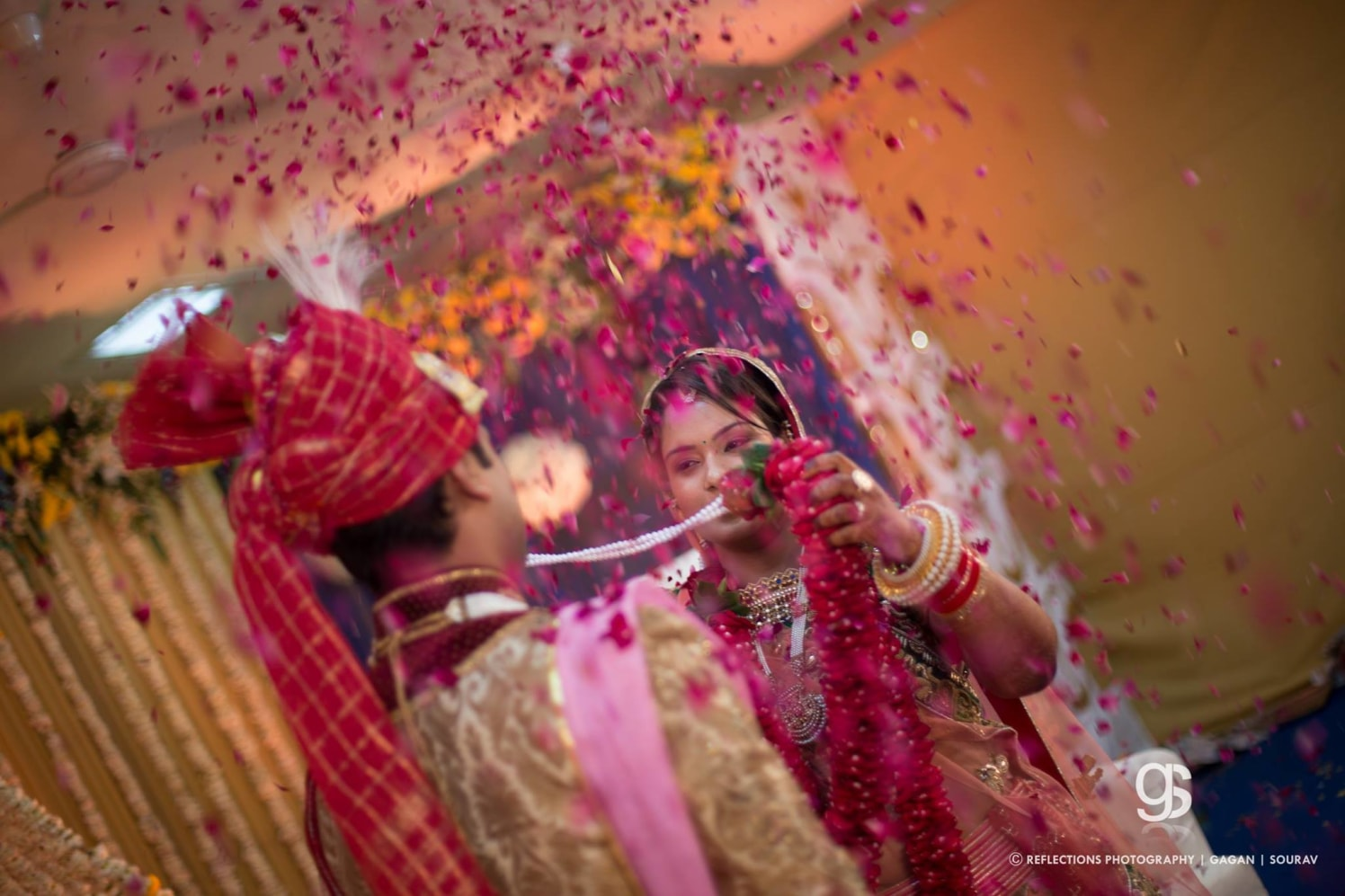 Shower of roses! by Reflections Photography Wedding-photography | Weddings Photos & Ideas