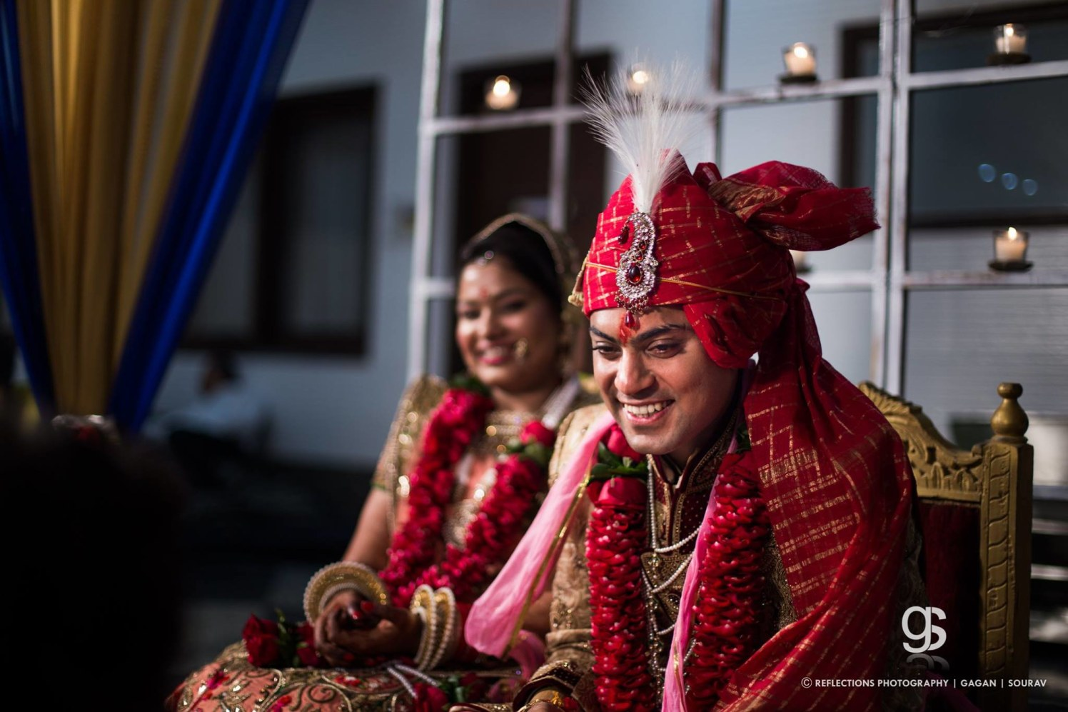 Beaming couplet! by Reflections Photography Wedding-photography | Weddings Photos & Ideas