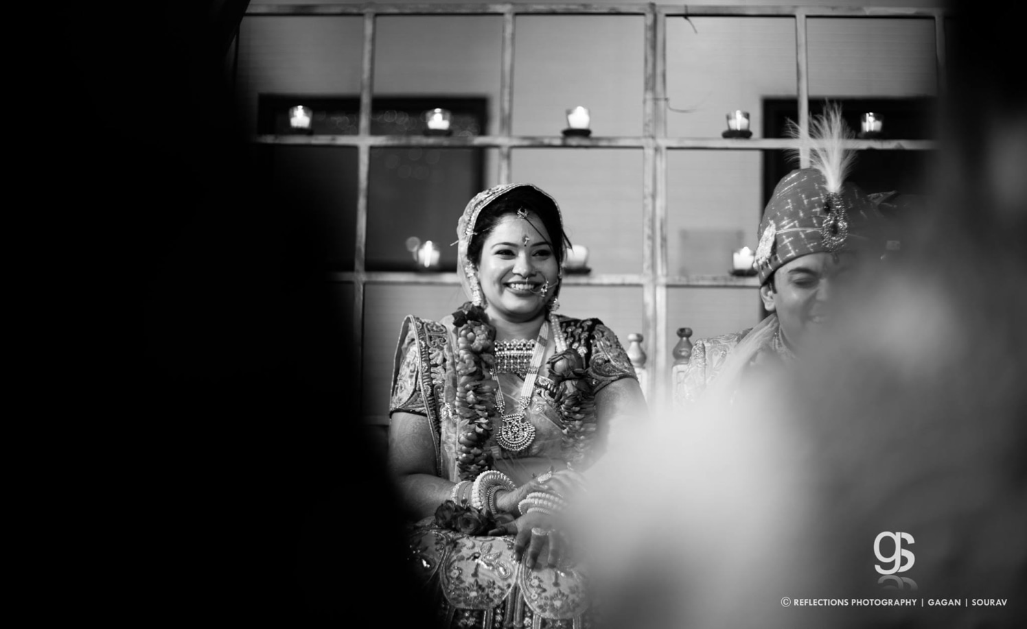Happiest smile! by Reflections Photography Wedding-photography | Weddings Photos & Ideas