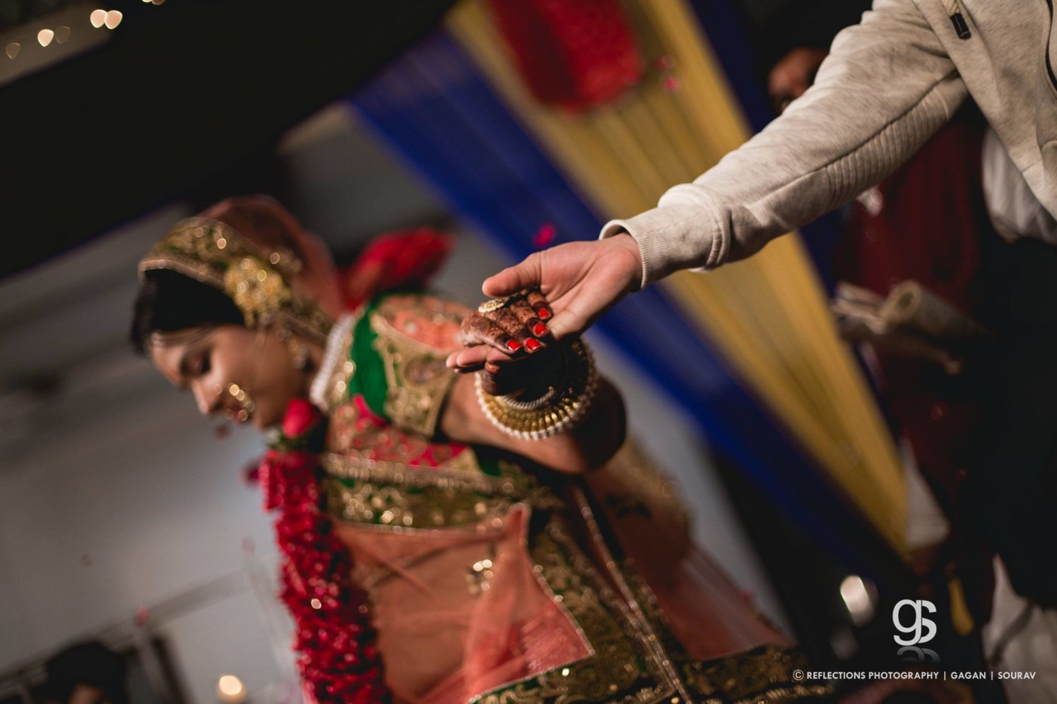 A glittering touch! by Reflections Photography Wedding-photography | Weddings Photos & Ideas