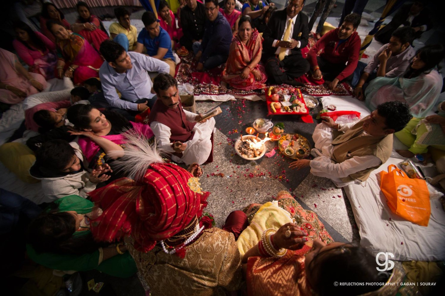 Engrossed in the rituals by Reflections Photography Wedding-photography | Weddings Photos & Ideas