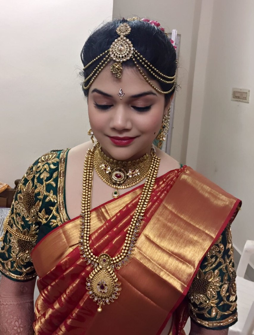 Traditional south indian bride by Nidhi Trivedi  Bridal-makeup | Weddings Photos & Ideas