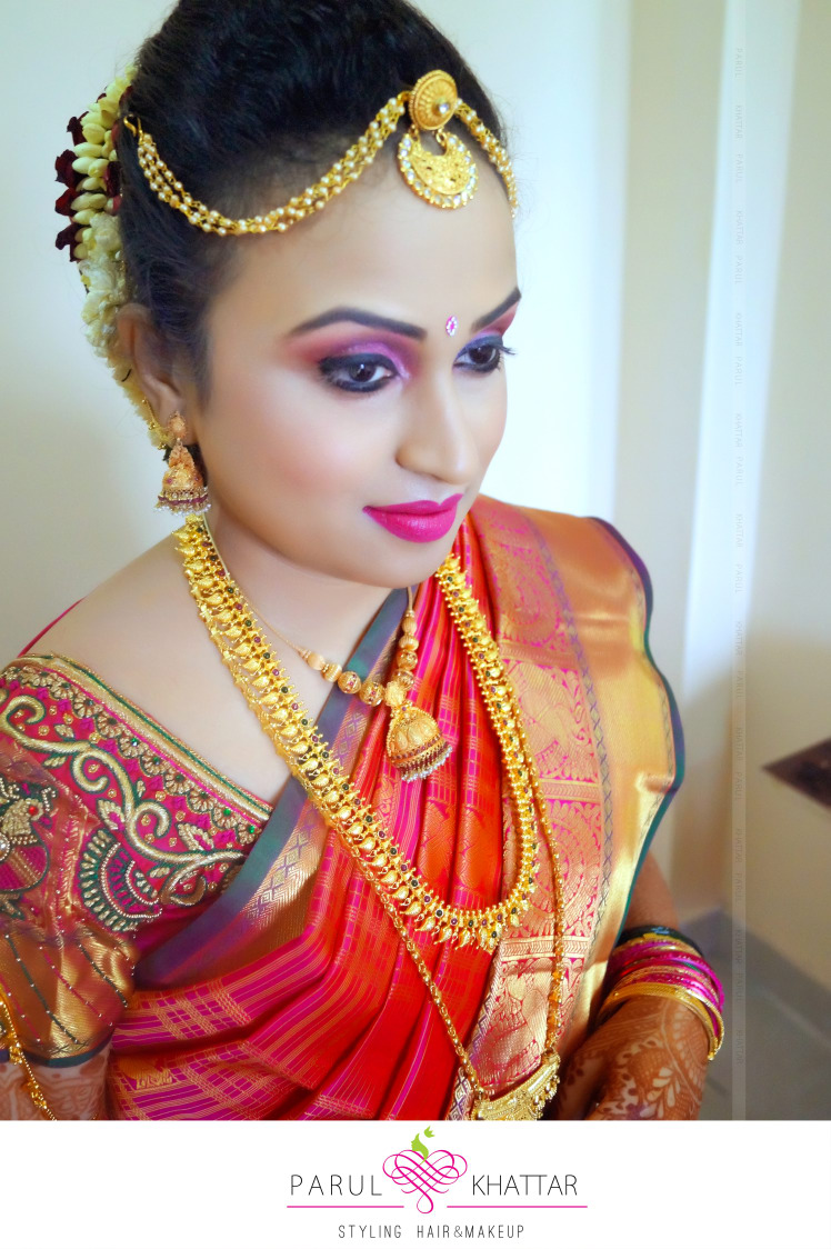 Properly Color-coordinated! by Parul Khattar Bridal-makeup | Weddings Photos & Ideas