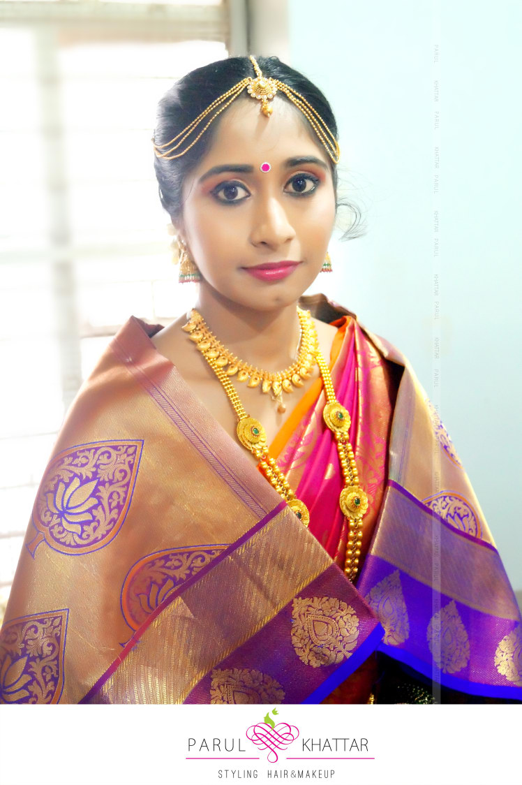 South Indian beauty by Parul Khattar Bridal-makeup | Weddings Photos & Ideas