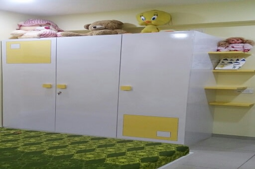 Funky Kids Bedroom by Irashri Infrastructure Modern Contemporary | Interior Design Photos & Ideas