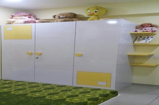 Funky Kids Bedroom by Irashri Infrastructure Modern Contemporary | Interior Design Photos & Ideas