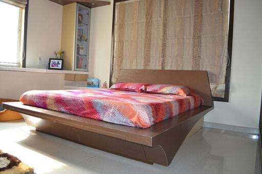 Casual Bedroom by Irashri Infrastructure Modern Contemporary | Interior Design Photos & Ideas
