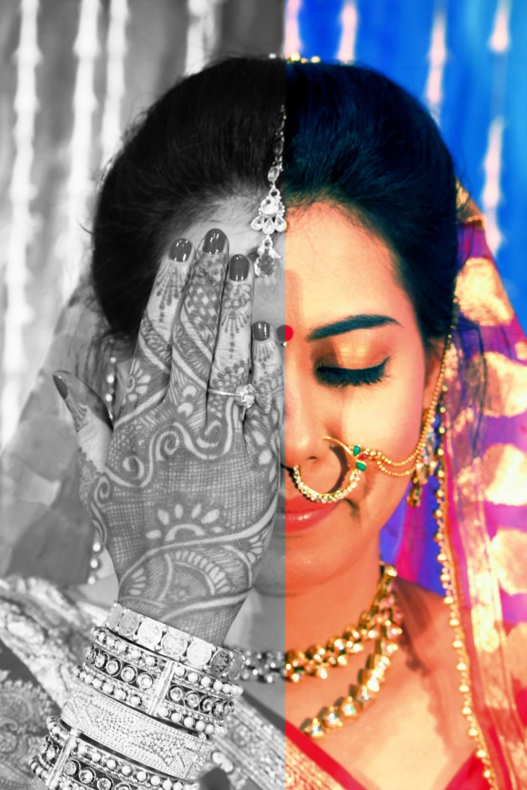 Stunning Shot Of The Bride by HSM Photography  Wedding-photography Bridal-jewellery-and-accessories Bridal-makeup | Weddings Photos & Ideas