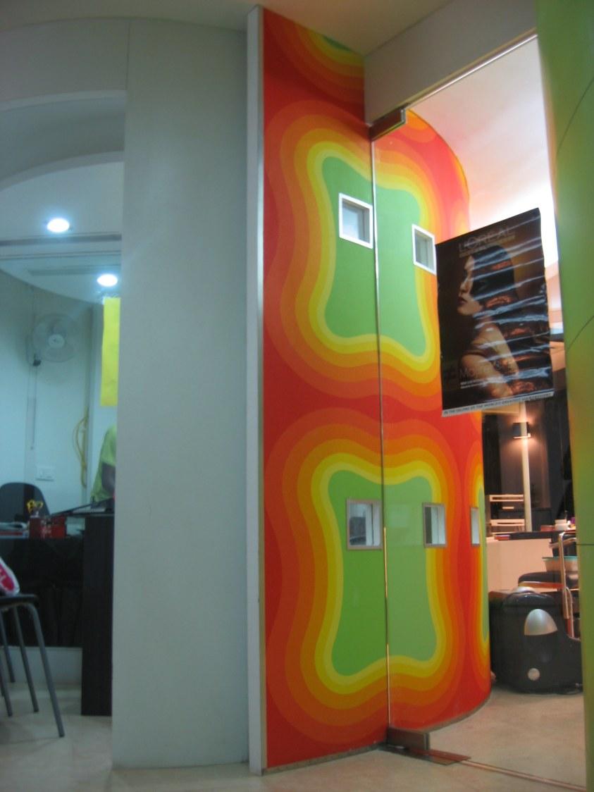 Entrance Of Salon by Vibhuti Fotedar Contemporary | Interior Design Photos & Ideas