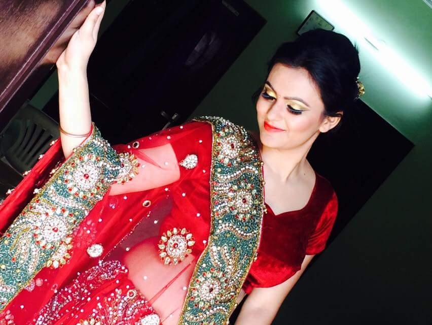 Ravishing eyes by Bhawna Garg Bridal-makeup | Weddings Photos & Ideas